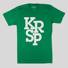 KRSP Stack T-Shirt - Green - Street Lab UK - 1
