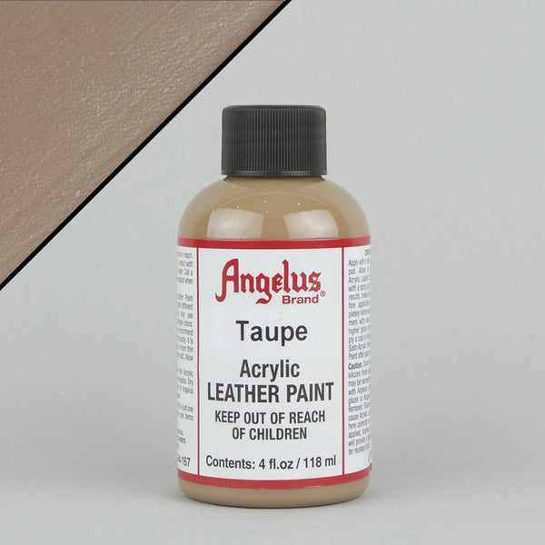 Angelus Leather Paint 4oz - Taupe - Street Lab UK