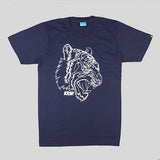 KRSP Tiger T-Shirt - Blue - Street Lab UK - 1