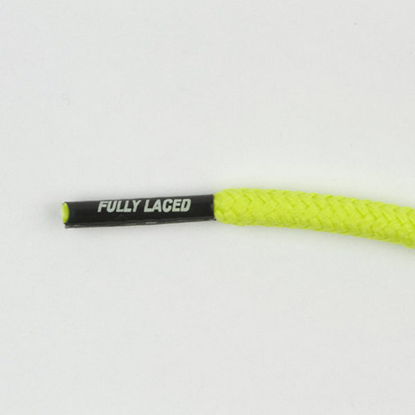 Fully Laced XI Shoelaces - Venom Green - Street Lab UK - 1