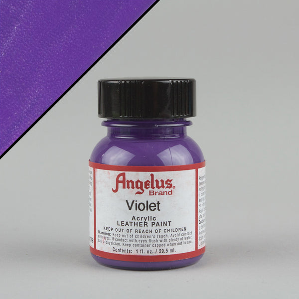 Angelus Leather Paint 1oz - Violet - Street Lab UK