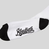 Bloodbath Keys Crew Socks - White - Street Lab UK - 3