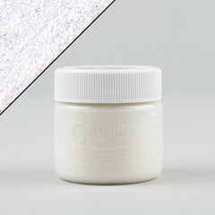 Angelus Glitterlites Leather Paint - Sugar White 1oz - Street Lab UK