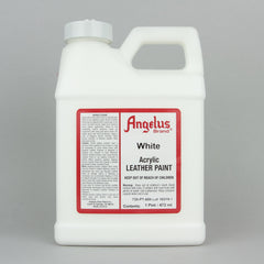 Angelus Leather Paint Pint (472ml) - White - Street Lab UK
