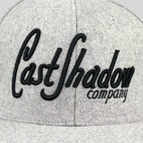 Cast Shadow Lettermark Snapback Cap - Grey - Street Lab UK - 3