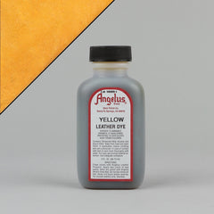 Angelus Leather Paint & Dyes - Yellow Leather Dye 3oz - Street Lab UK