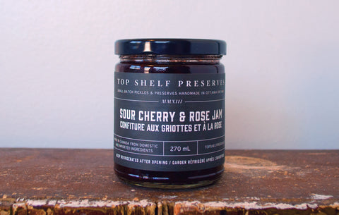 Sour Cherry & Rose Jam