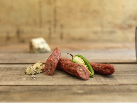Jalapeño Blue Cheese Salami