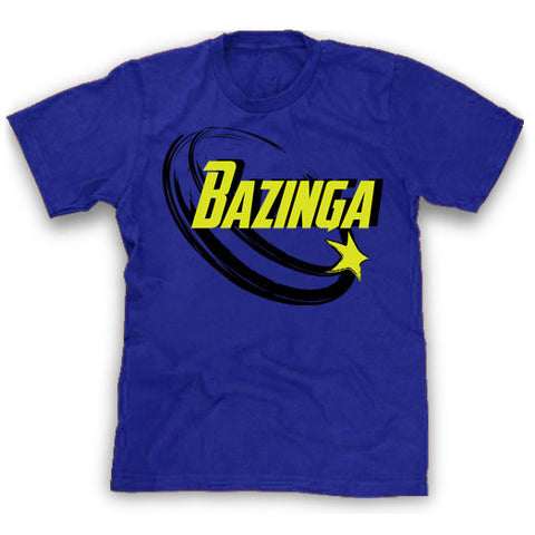 Blue Bazinga Shirt