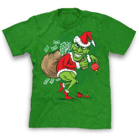 Obama Grinch Funny political T-Shirt