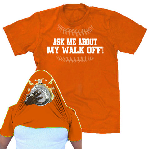 Walk Off Baltimore Baseball Over the Face Tshirt