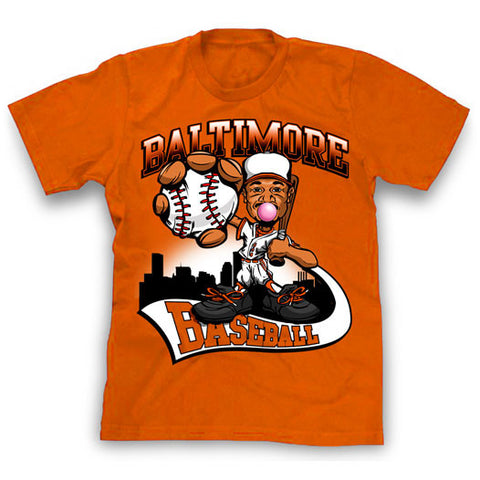 Adam Jones Caricature Baltimore Baseball Tshirt