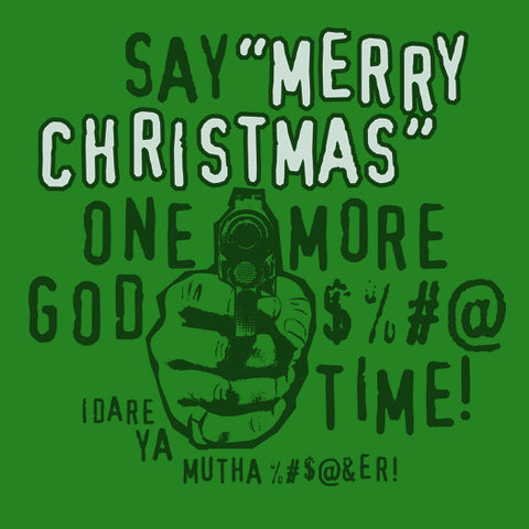 Say Merry Christmas Again