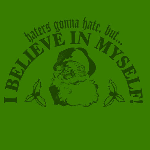 I Believe In Myself Santa