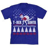 T-Rex Santa Ugly Christmas Sweater T-Shirt