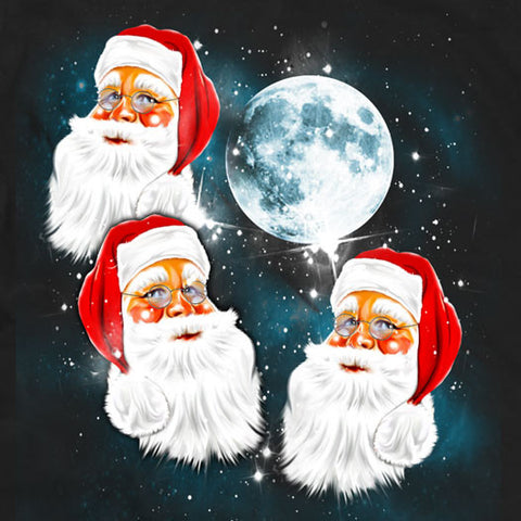 Three Santa Moon, Three Wolf Moon Parody