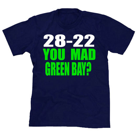 28-22 You Mad Green Bay? Seattle NFC Champions