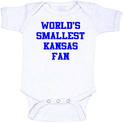 World's Smallest Kansas Fan Onesies