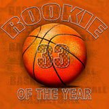 Basketball rookie of the year shirt