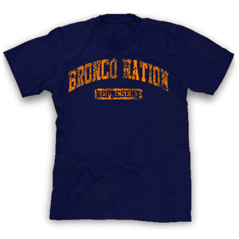 Bronco Nation represent shirt
