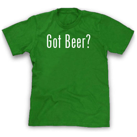 Green got beer shirt