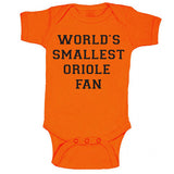 World's Smallest Oriole Fan Onesie