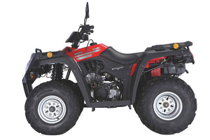 New Off Road 250 Brumby Farm Quad Bike 250cc 5 Speed with Carry Racks