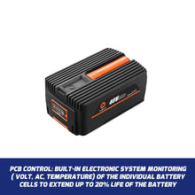 Load image into Gallery viewer, 40Volt 4Ah Battery for All Redback Battery Power Garden Tools