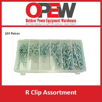 R Clip Assortment | Split Pins ,  R Clips , roll pins , Cotter Pins
