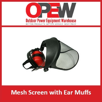 Ear Muffs with Mesh Screen | CE Approved