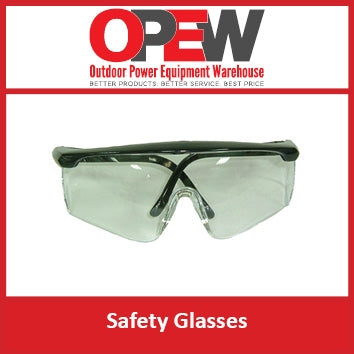 Safety Glasses | Clear Lense with adjustable arms