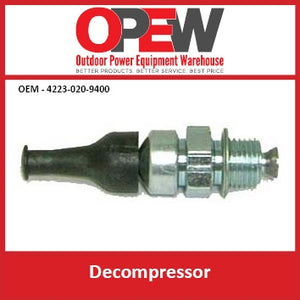 Small Engine Decompressor | Chainsaw | Generator OEM 4223-020-9400