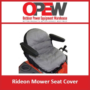 Ride On Mower Seat Cover - Zero Turn Rider - Mid Mount - Tractor Mower