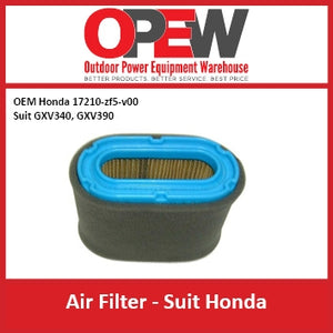 New Lawn Mower Air Filter Honda AIR-1328 OEM 17211-ZF5-V00 Suits GXV340 GXV390
