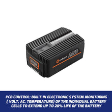 Load image into Gallery viewer, New RB-2AH Redback 40V 2 Amp Hour Samsung Cell Battery