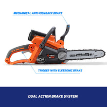 Load image into Gallery viewer, 40V Brushless Cordless Chainsaw,12in Oregon Bar&Chain With 6Ah Battery,Speed Charger