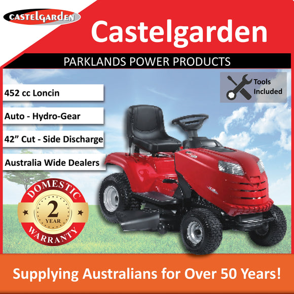Parklander By Castle Garden Side Discharge Ride On XDL160HD