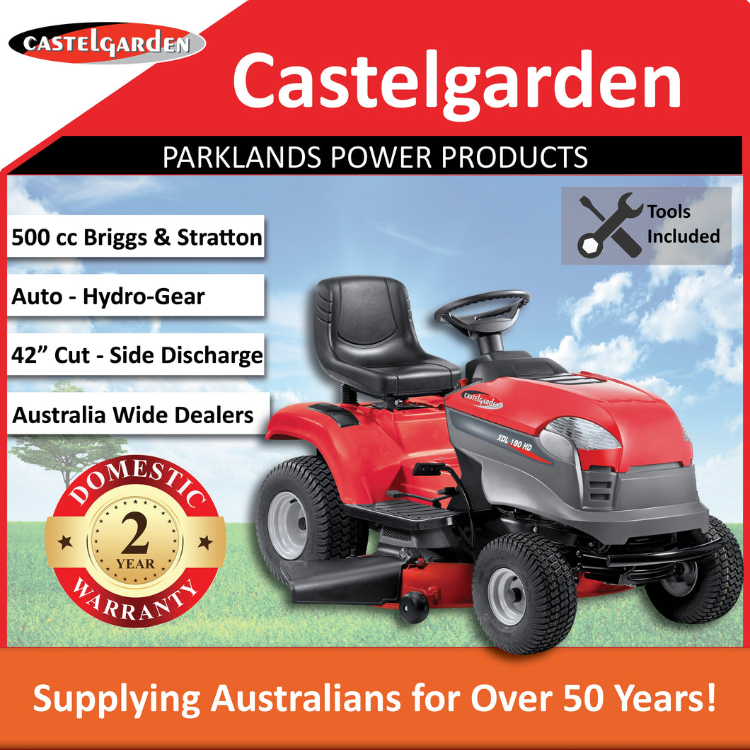 New Castelgarden XDL190HD 42