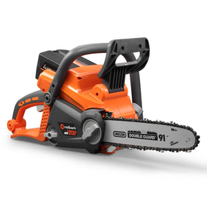 "New RB-CS14 Redback 40V Cordless 14"" Chainsaw w Oregon Bar & Chain, 4Ah Battery & Charger"