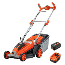 Load image into Gallery viewer, Redback 40V Brushless Battery Lawn Mower, 6AH Battery & Speed Charger