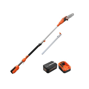 Redback 40V Cordless Long Reach Pole Saw With 6Ah Battery(Li-Ion),Charger