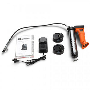 New RB-G0001 Redback 12V Cordless Grease Gun set including 2 X batteries & Charger