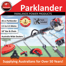 Load image into Gallery viewer, New Parklander 26cc Multi Tool with 5 attachments and slashing blade