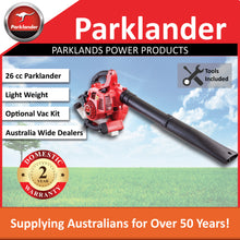 Load image into Gallery viewer, New Parklander Blower PBL-260B 26cc with the option of a vac kit