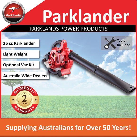 New Parklander Blower PBL-260B 26cc with the option of a vac kit