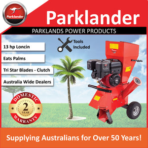 New Parklander PSC-13-L Chipper/Shredder 13 hp Loncin - Takes Palms