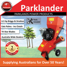 Load image into Gallery viewer, New Parklander PSC-76-B Chipper/Shredder 6.5 hp Briggs & Stratton - Takes Palms