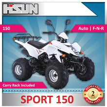 Load image into Gallery viewer, New Off Road S150 Sport Quad Bike 150cc F-N-R Rear Wheel Drive -Air Cooled