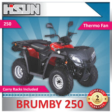 Load image into Gallery viewer, New Off Road 250 Brumby Farm Quad Bike 250cc 5 Speed with Carry Racks