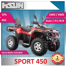 Load image into Gallery viewer, New Hisun S450 Sport Quad Bike 450cc H-L-N-R 2/4WD | EPS